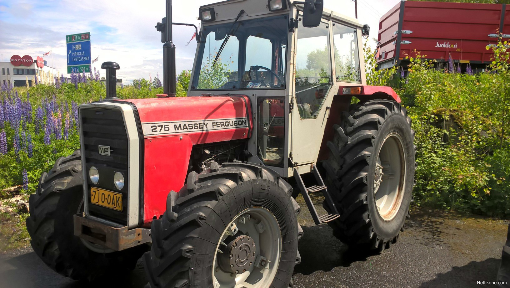 Mf 275 Tractor Data : Massey ferguson tractors nettikone