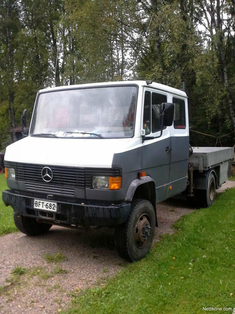 Mercedes benz 814 da 4x4 trucks 1994 nettikone for Mercedes benz 4x4 truck