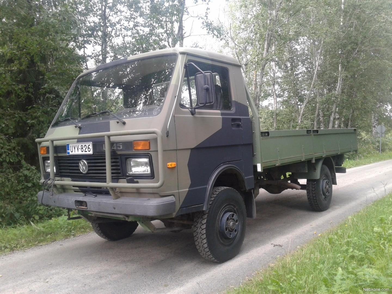 volkswagen lt 45 4x4 trucks 1988 nettikone. Black Bedroom Furniture Sets. Home Design Ideas