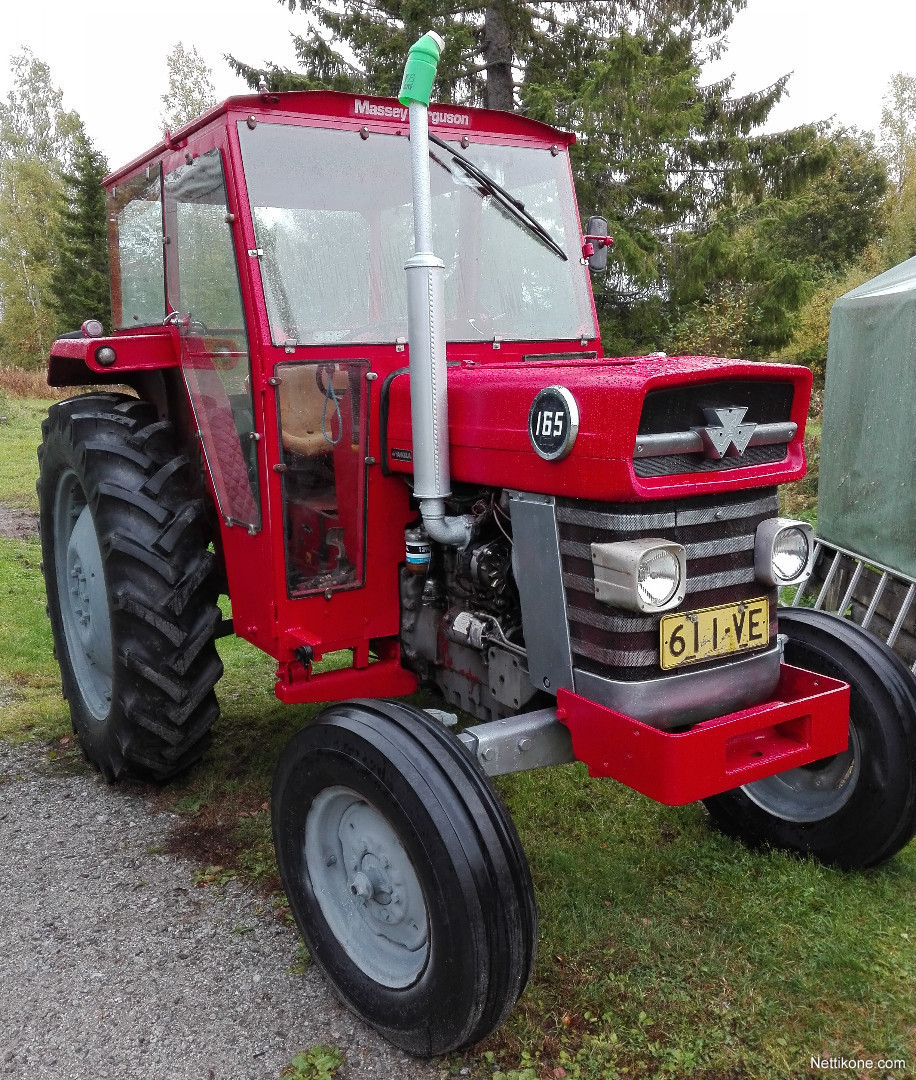 massey ferguson 165 s tractors 1976 nettikone. Black Bedroom Furniture Sets. Home Design Ideas