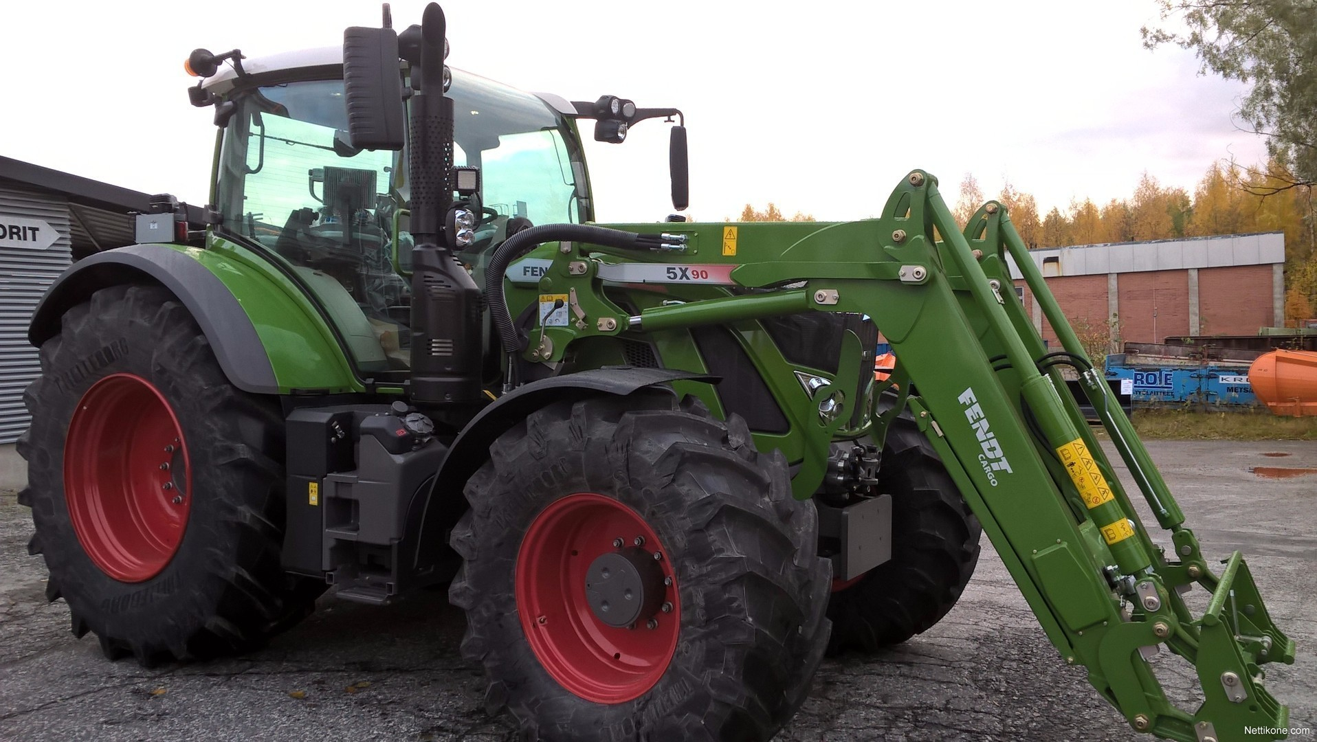 Transmission For Sale >> Fendt 724 vario tractors - Nettikone