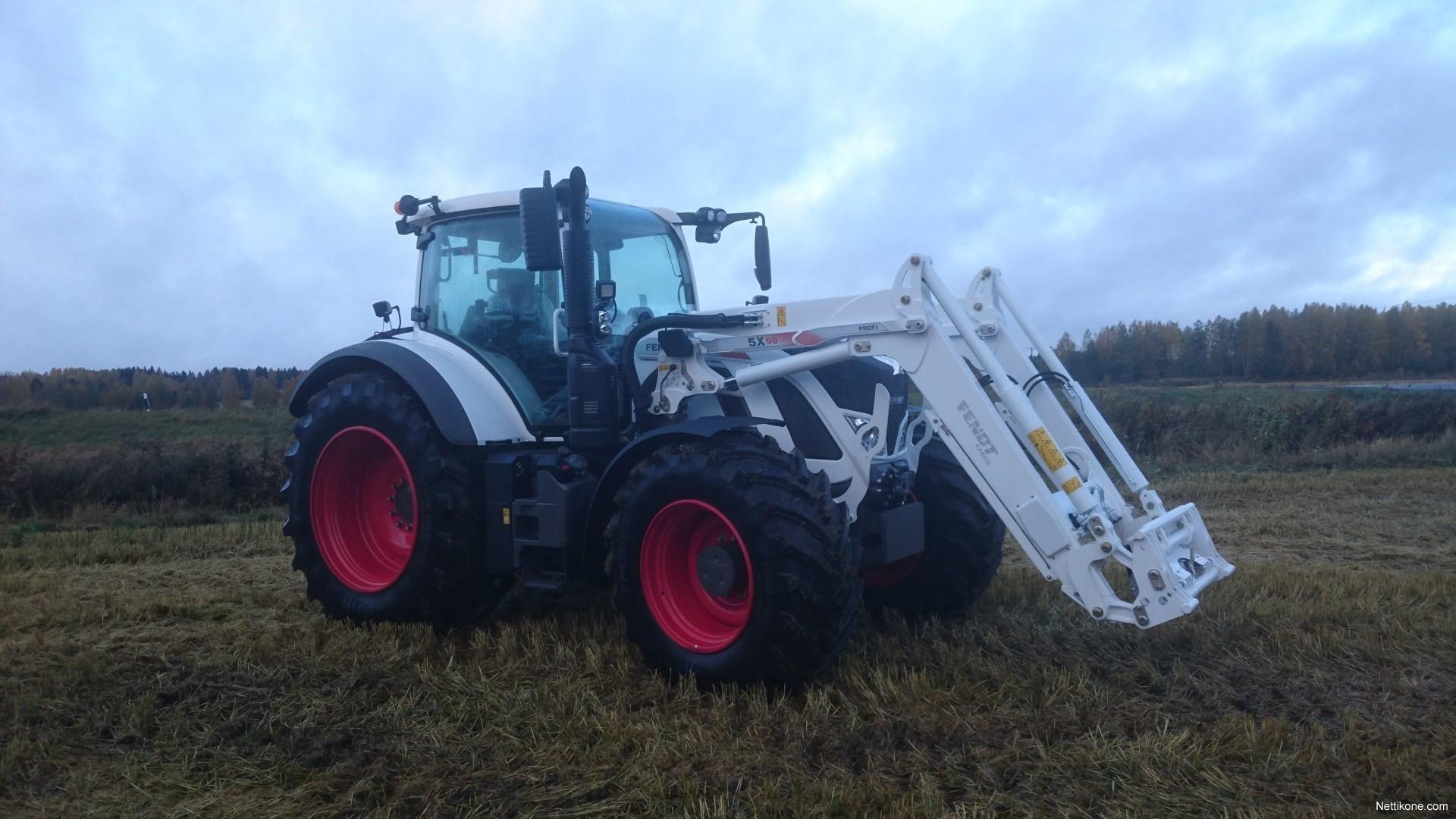Fendt 724 Vario S4 Tractors 2017 Nettikone