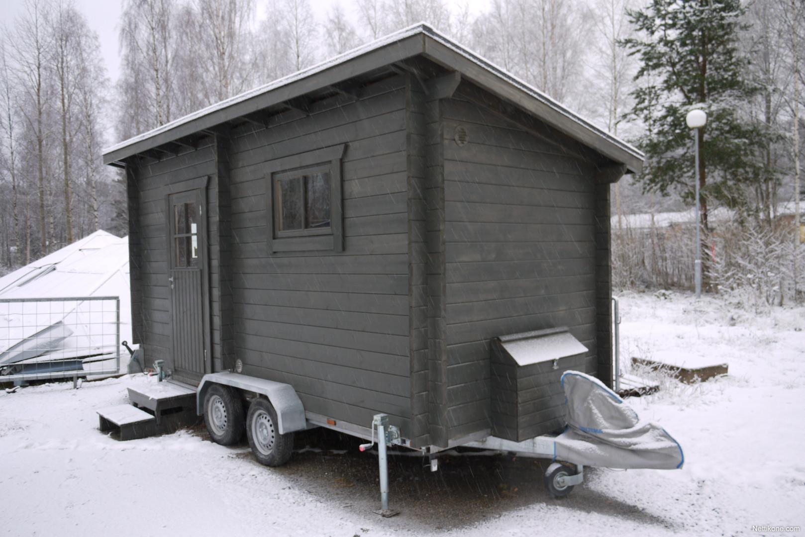 Myytävänä Muu merkki saunamökki ja traileri muu-kalusto - Nettiauto