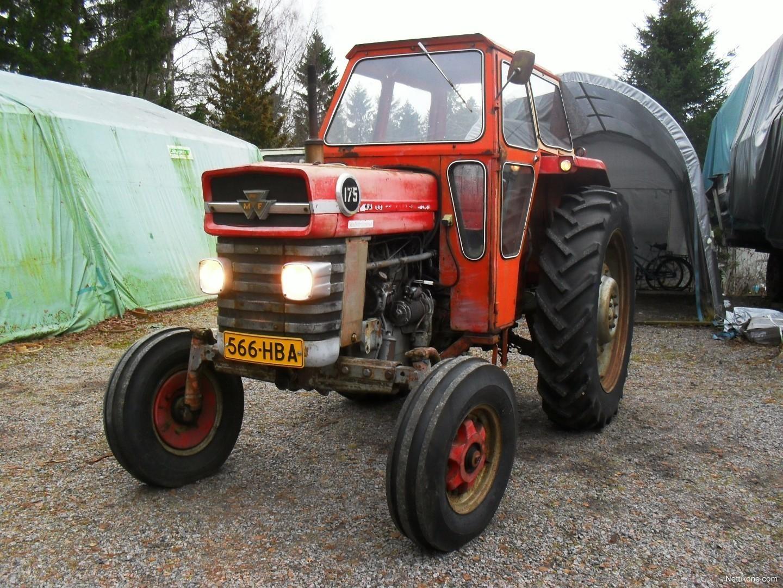 Massey Ferguson 175 Tractor Data : Massey ferguson multipower tractors nettikone