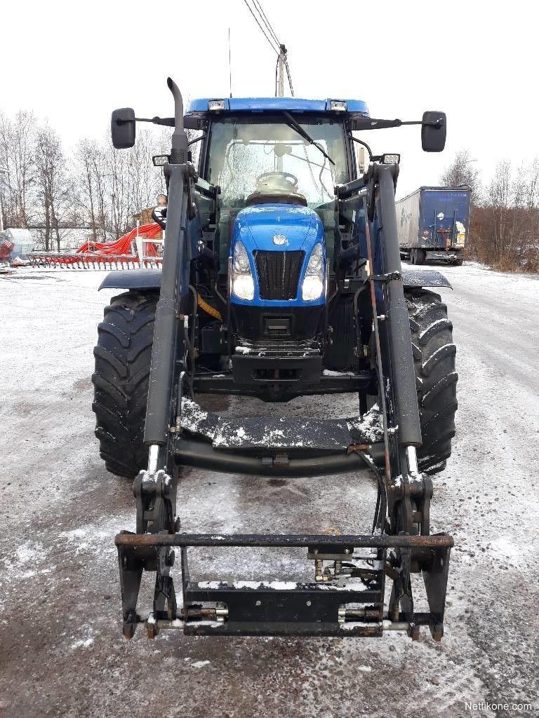 New Holland Ts 125 A Tractors 2005 Nettikone Ori