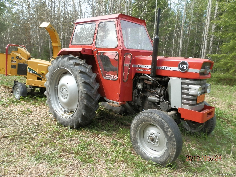 Massey Ferguson 175 Tractor Data : Massey ferguson tractors nettikone