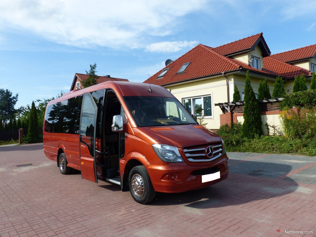 mercedes benz sprinter 519 cdi xxxl 24 seats euro 6 linja. Black Bedroom Furniture Sets. Home Design Ideas