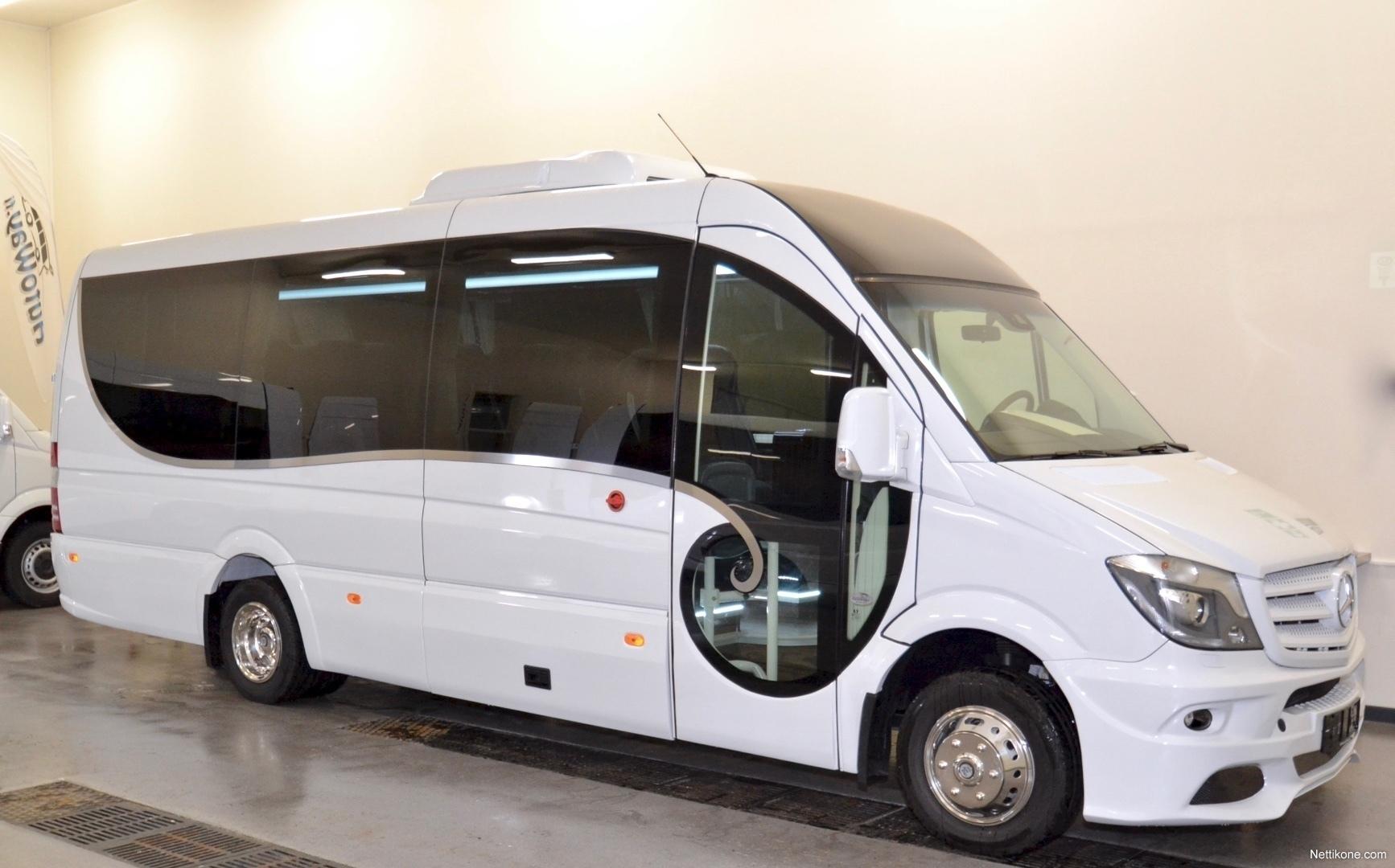 Mercedes benz sprinter 519 cdi bus coach 2018 nettikone for Mercedes benz sprinter accessories