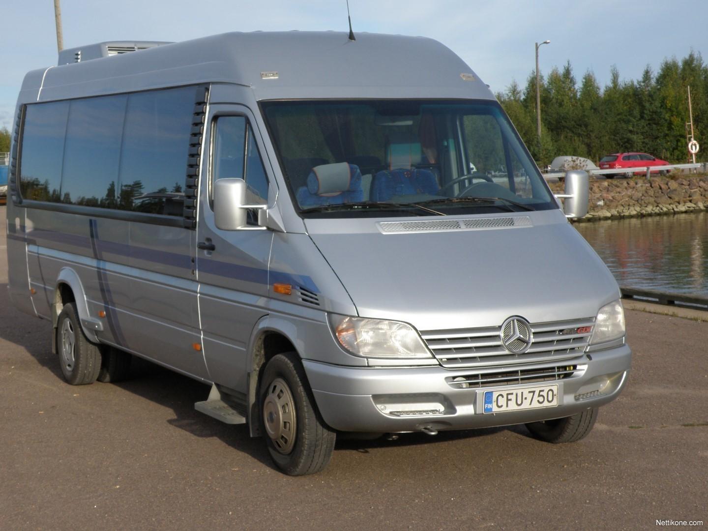 mercedes benz sprinter bus coach 2003 nettikone. Black Bedroom Furniture Sets. Home Design Ideas