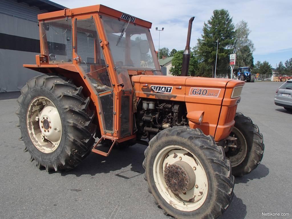 Berühmt Fiat 640 DT tractors, 1975 - Nettikone @DI_68