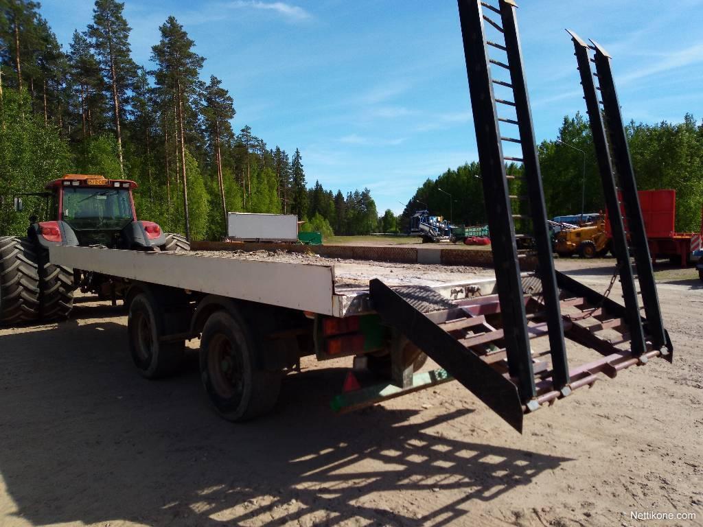 uusin kokoelma ostaa halpaa kilpailukykyinen hinta Muu merkki Perävaunu Jarrullinen lavetti 2-akselinen traktori  puoliperävaunut, 2000 - Nettikone
