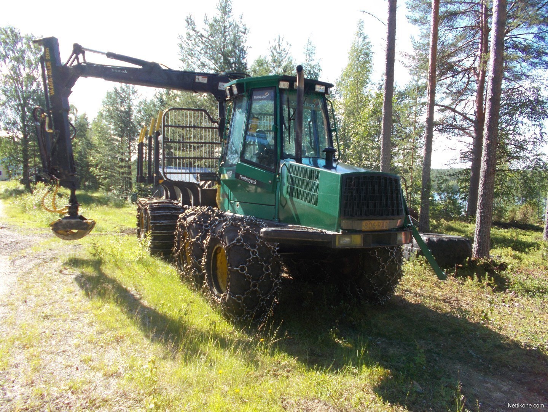Enlarge image. Forwarders-Timberjack