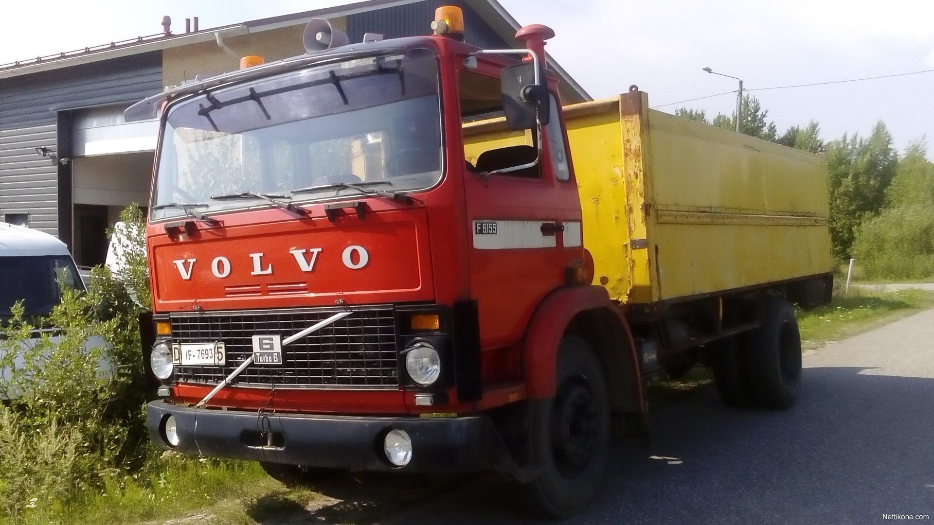 Vanhat Volvo Kuorma-Autot