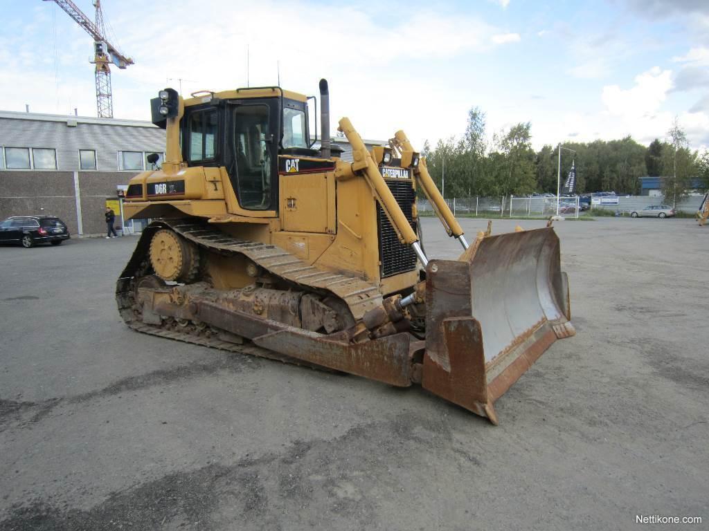 Caterpillar D6R XL construction dozers and pipelayers2001 - Nettikone