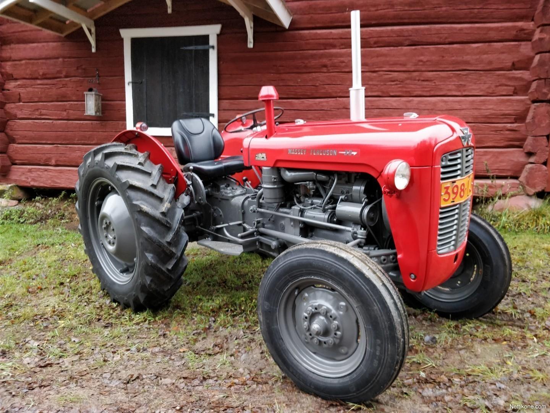 massey ferguson mf 35 tractors 1961 nettikone. Black Bedroom Furniture Sets. Home Design Ideas