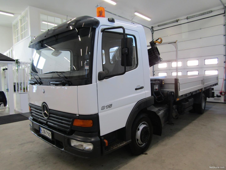 ... Mercedes-Benz ATEGO 815 White nonmetallic transport ...