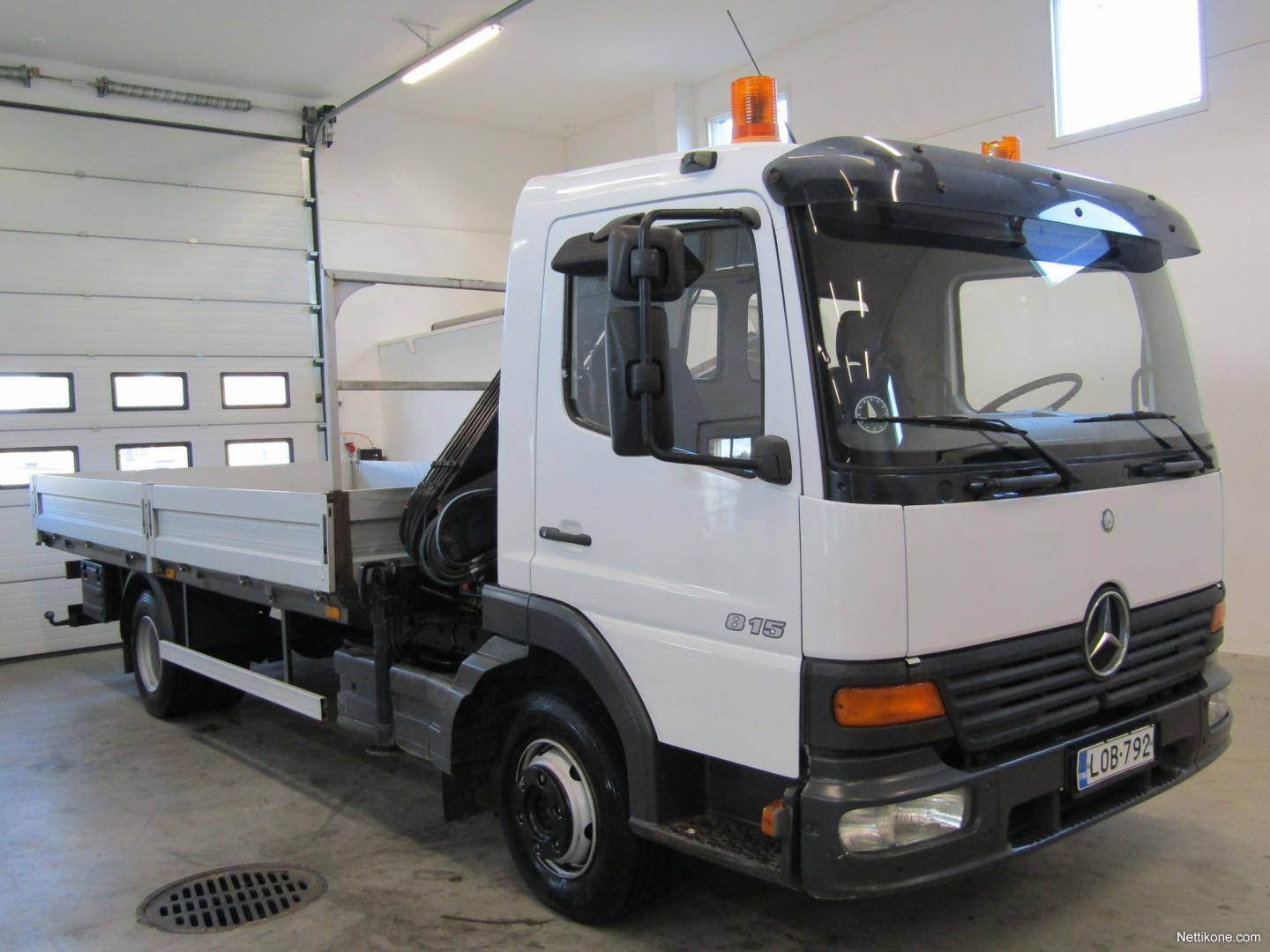 ... Mercedes-Benz ATEGO 815 White nonmetallic transport ...