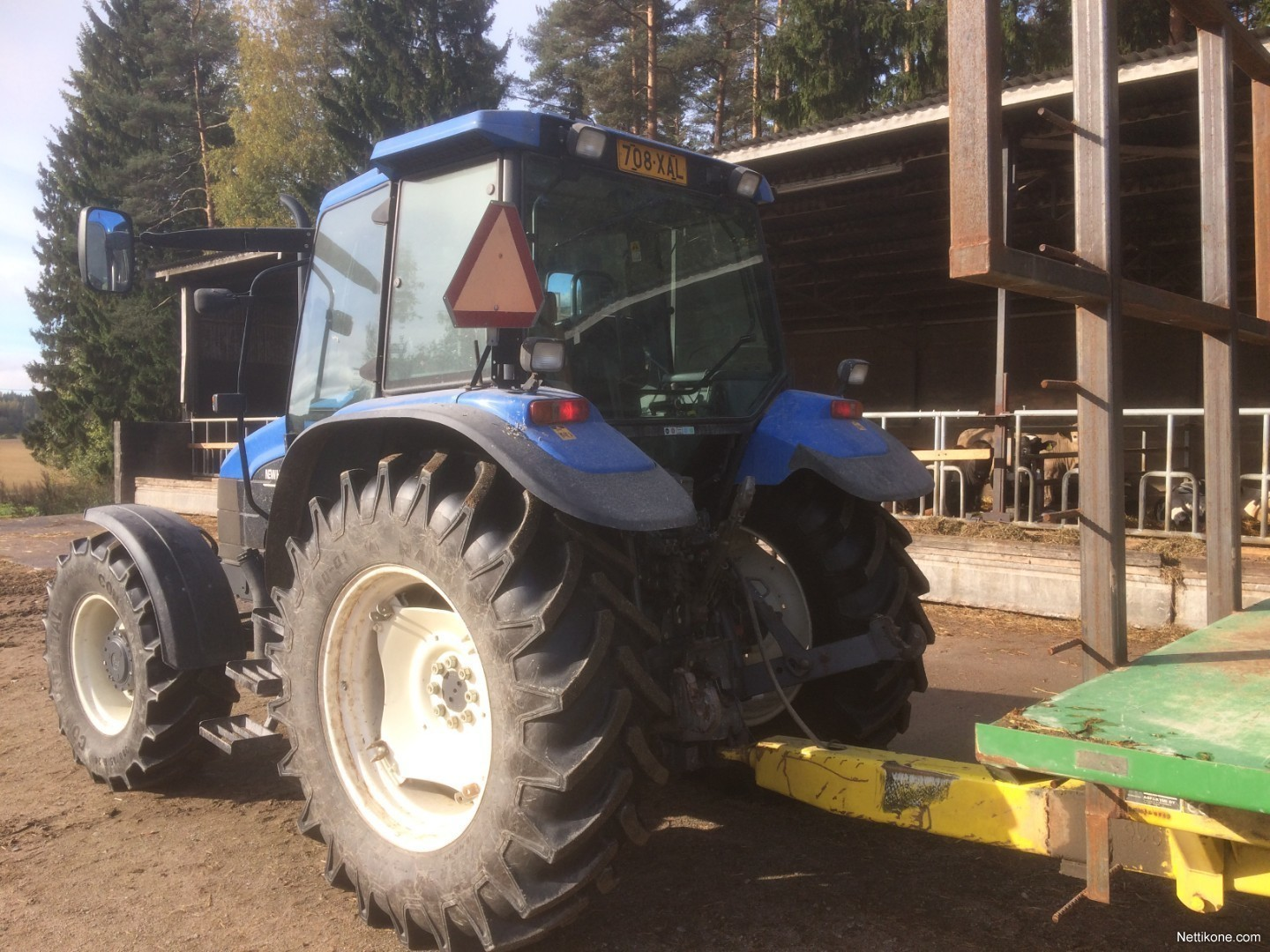 New holland TS110 agriculturemachines tractors2001 - Nettikone