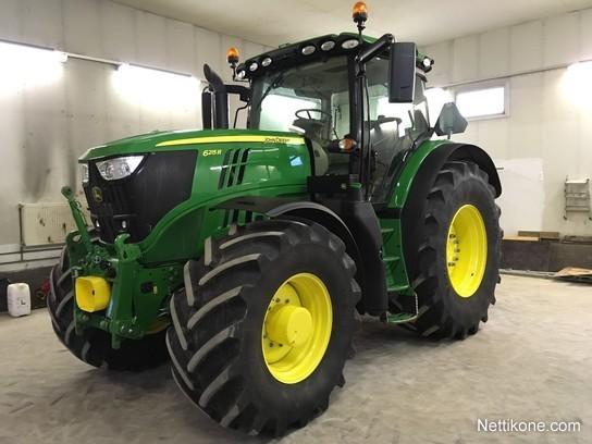 John Deere 6215R tractors, 2016 - Nettikone
