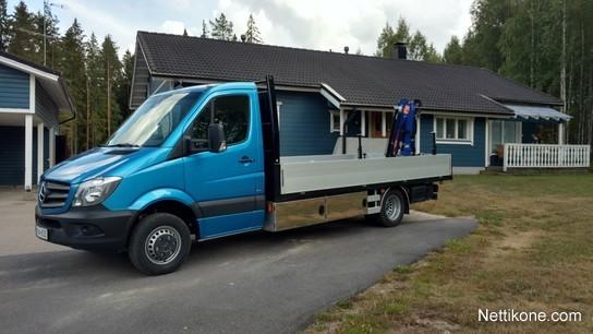 Mercedes Benz Sprinter >> Mercedes Benz Sprinter 516 Cdi Nosturilla Pakettiautot Ja Kevyet Kuorma Autot 2019 Nettikone