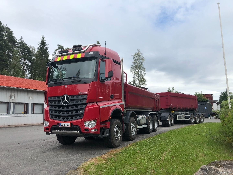 Mercedes Benz Arocs Trucks 2019 Nettikone