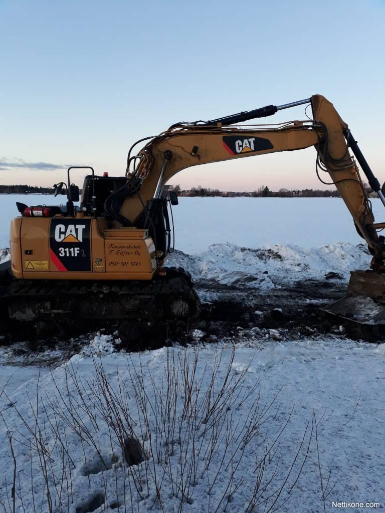 Caterpillar 311 FL excavators, 2016 - Nettikone