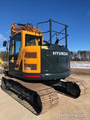 Hyundai HX 145 LCR excavators, 2016 - Nettikone