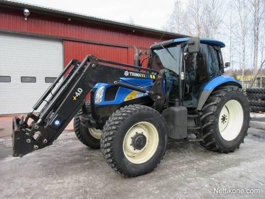 New Holland TSA 130 Electro Command tractors, 2007 - Nettikone
