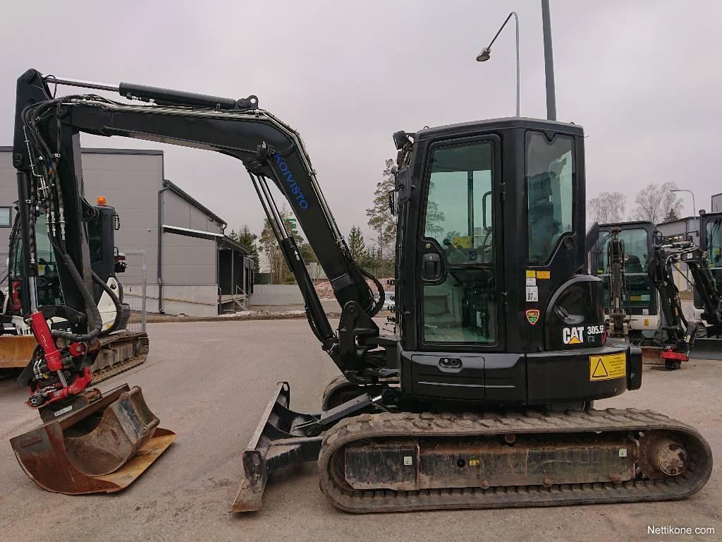 Caterpillar 305 5 E CR excavators, 2016 - Nettikone