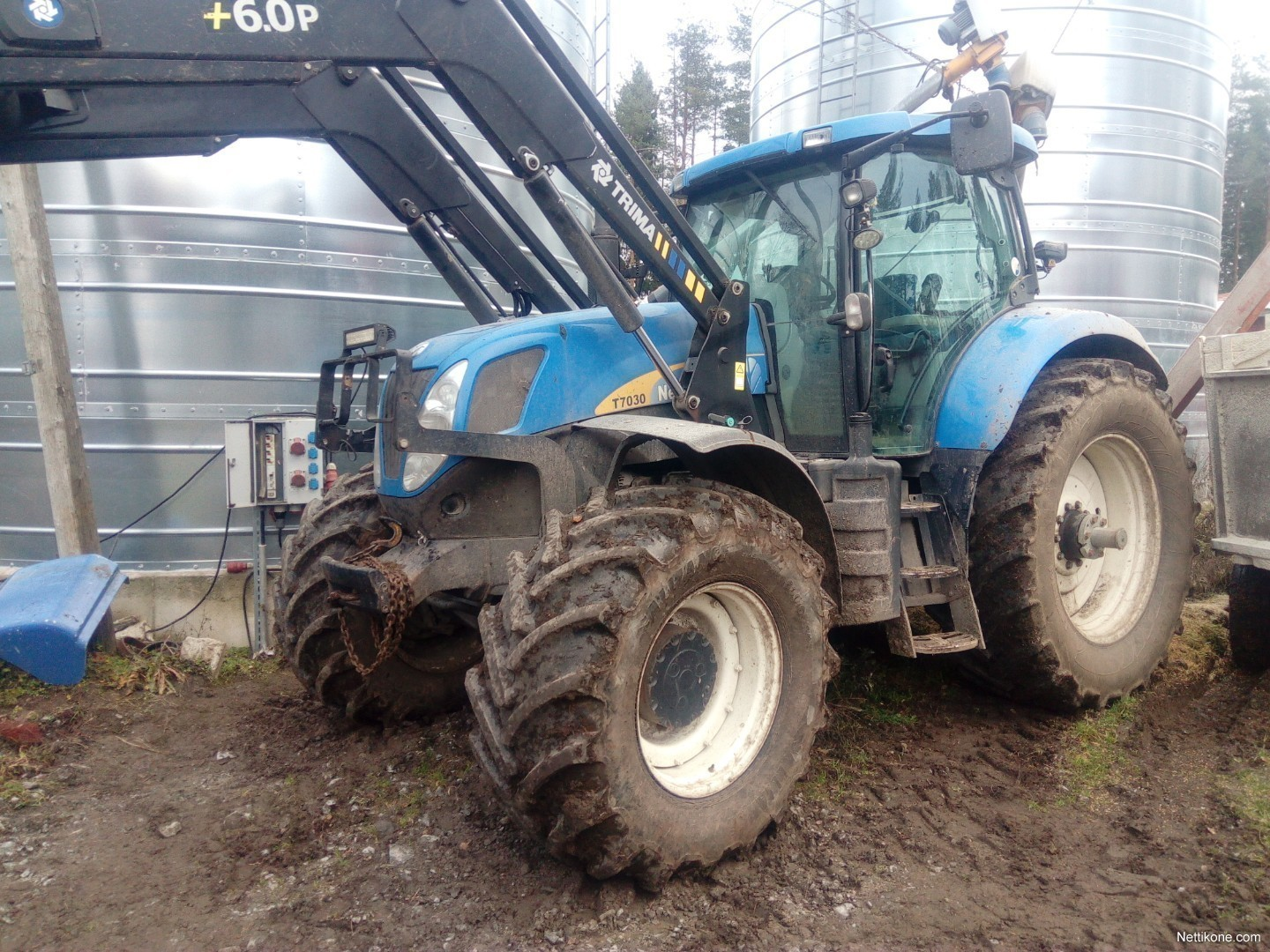 New Holland T7030 tractors, 2010 - Nettikone