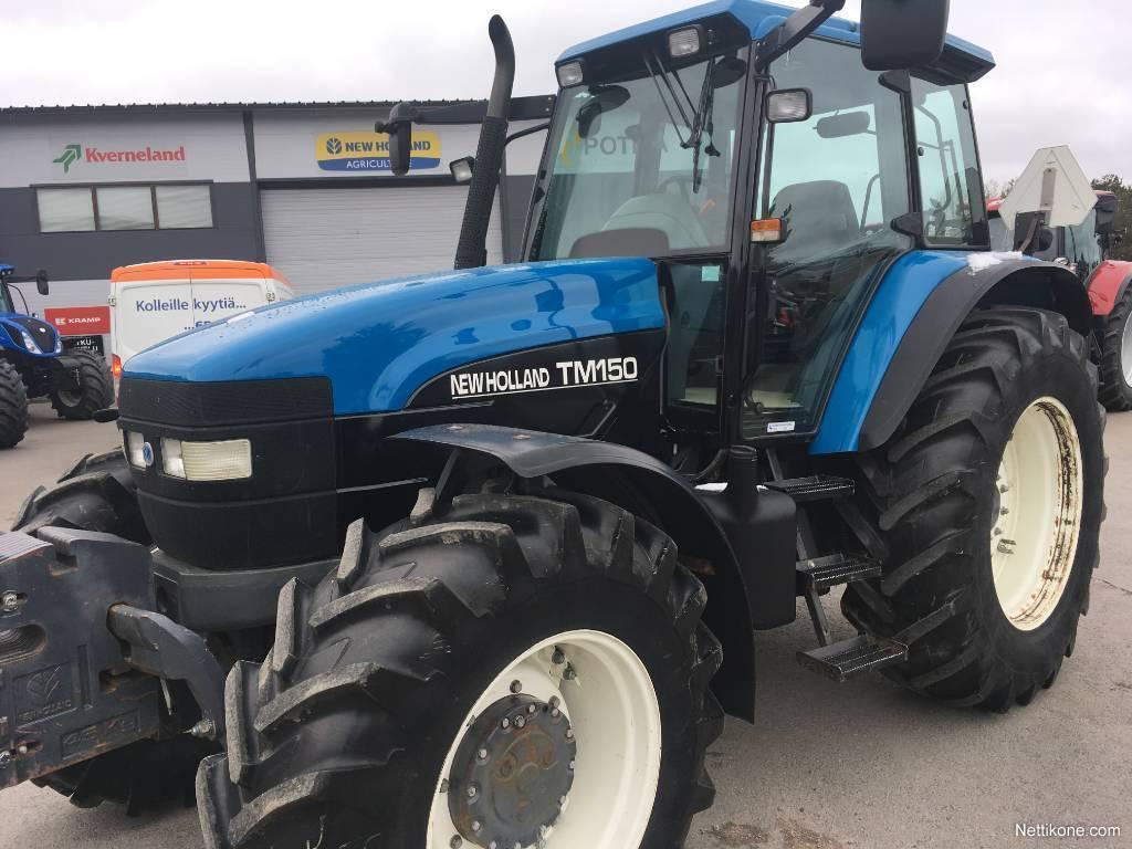 New Holland TM 150 PC SS tractors, 2001 - Nettikone