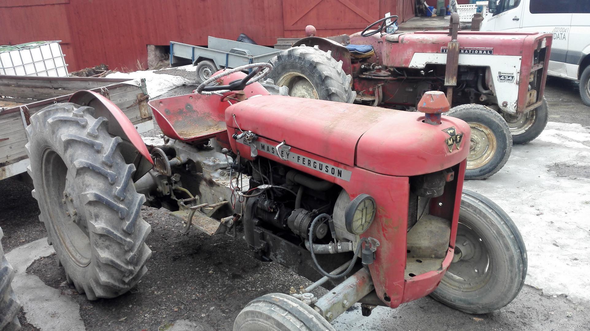 Massey Ferguson 25 tractors, 1962 - Nettikone