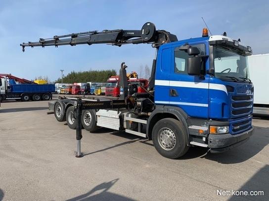 Scania G440 8x2 trucks, 2013 - Nettikone