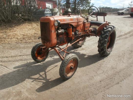 Allis Allis-Chalmers B USA tractors, 1950 - Nettikone