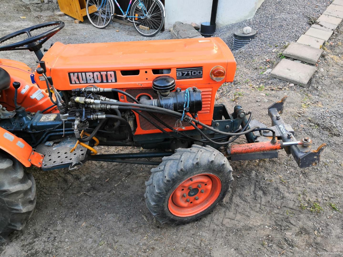 Kubota B7100 tractors - Nettikone