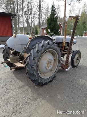 Massey Ferguson TE-D-20 tractors, 1952 - Nettikone