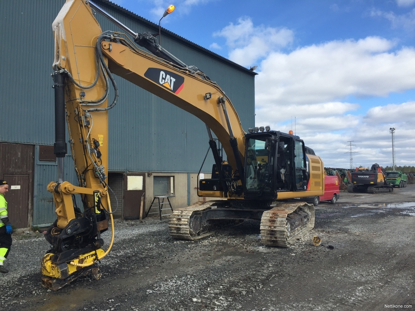 Caterpillar 329E construction excavators2014 - Nettikone