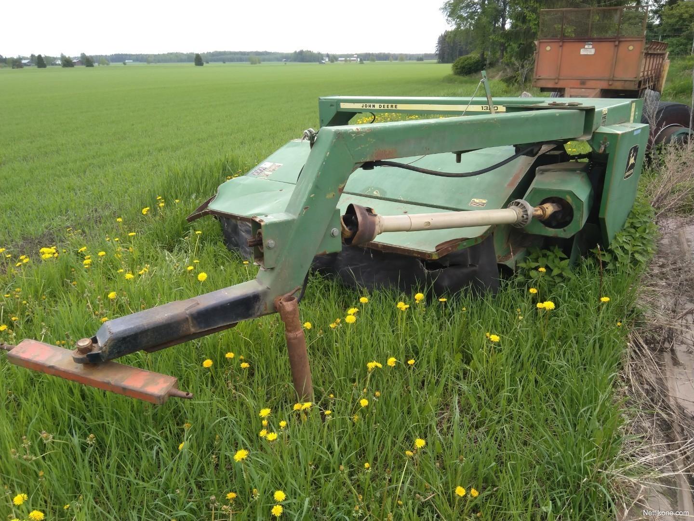 John Deere 1320  2 5m hay and forage machines - Nettikone