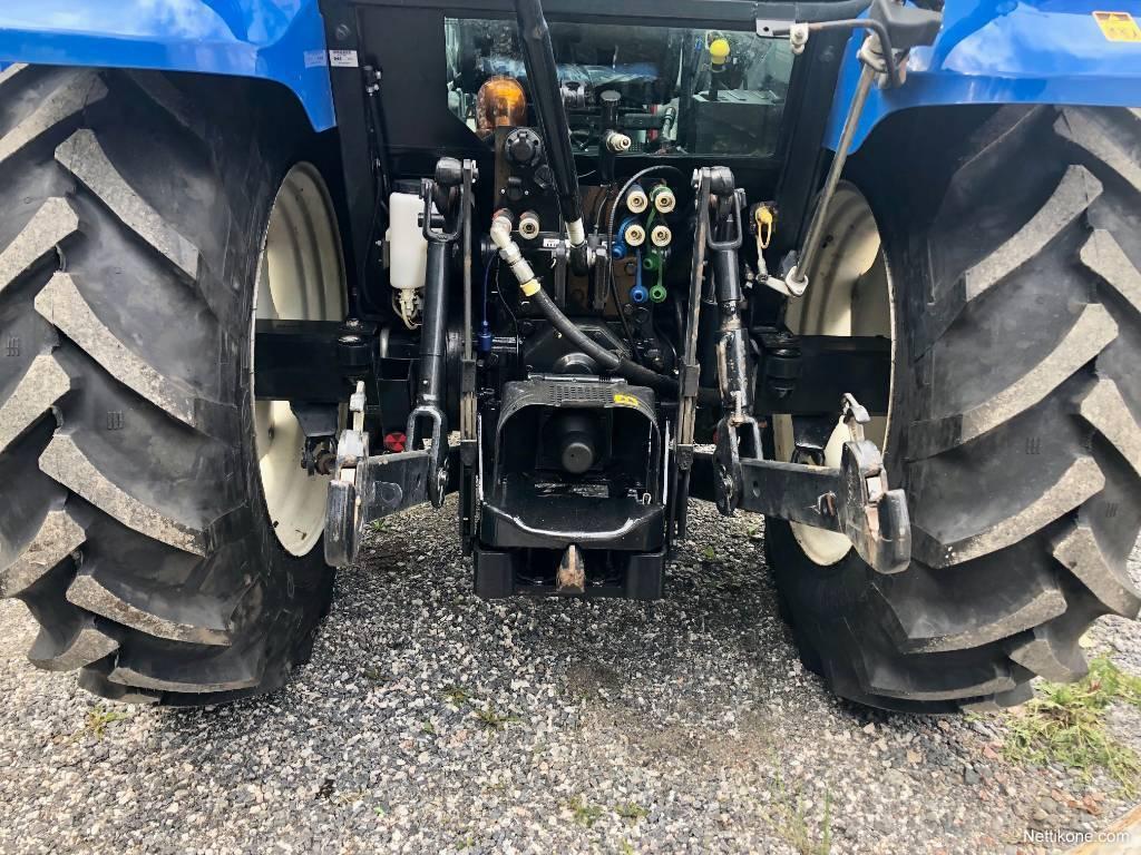 New Holland T5050 DC PS tractors, 2008 - Nettikone