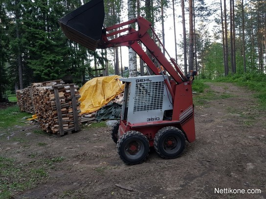 Gehl 3610 construction: skid steer loaders, 1990 - Nettikone