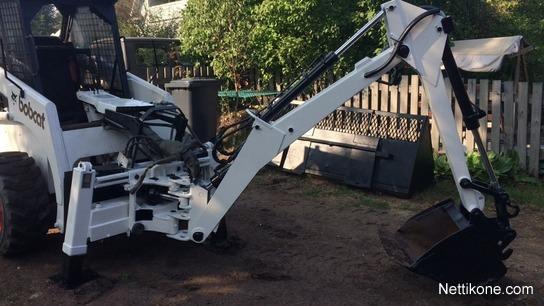 Bobcat Mara 500 construction: skid steer loaders - Nettikone