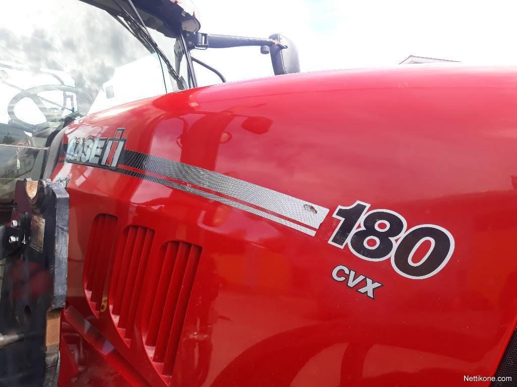 erilaisia muotoiluja laatu muutaman päivän päässä Case IH Puma 180 CVX traktorit, 2012 - Nettikone