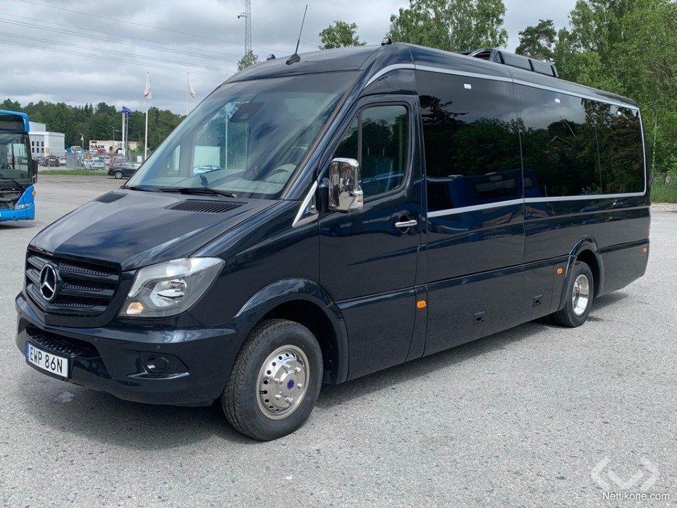 Mercedes Mini Van >> Mercedes Benz Sprinter Bus Coach 2018 Nettikone