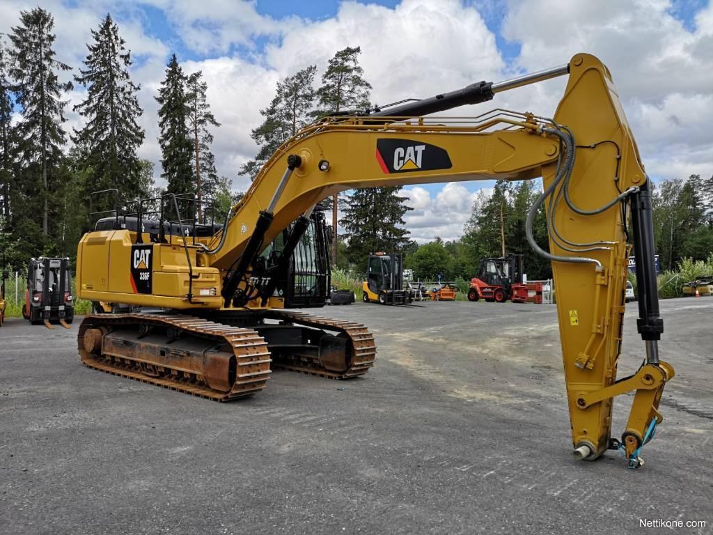 Caterpillar 336F construction excavators2016 - Nettikone