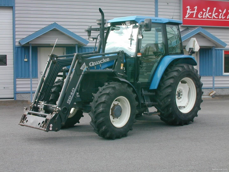 New Holland TS100 Aj vain 4966 h tractors, 2000 - Nettikone