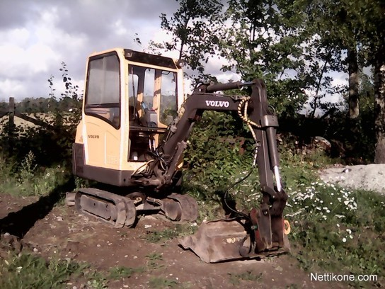 Volvo ec 15 excavators, 2002 - Nettikone