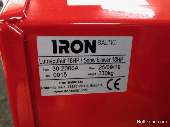 Muu merkki Iron Baltic
