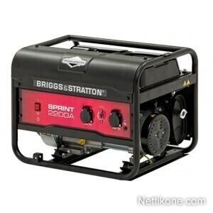 Briggs&stratton Sprint 2200A aggregaatti, Musta