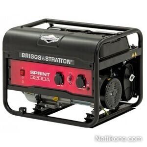 Briggs&stratton Sprint 3200A aggregaatti, Musta