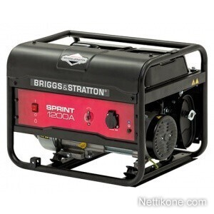 Briggs&stratton Sprint 1200A aggregaatti, Musta